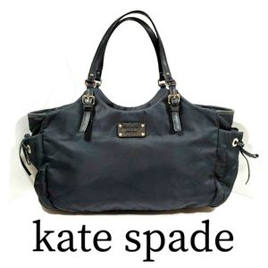 kate spade Black Nylon Side Pocket Shoulder Bag